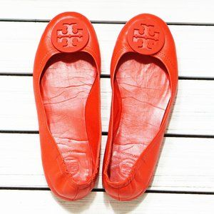 Tory Burch Minnie Travel Ballet Flats with Logo 7